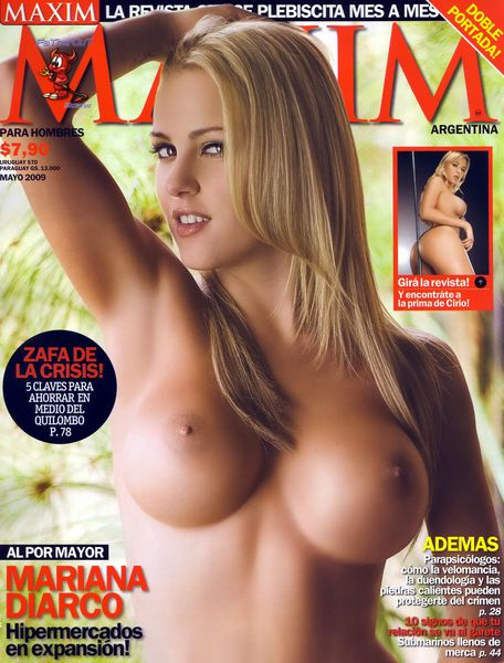 Maxim Argentina Topless Model