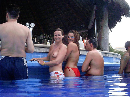 Topless Pool Bar