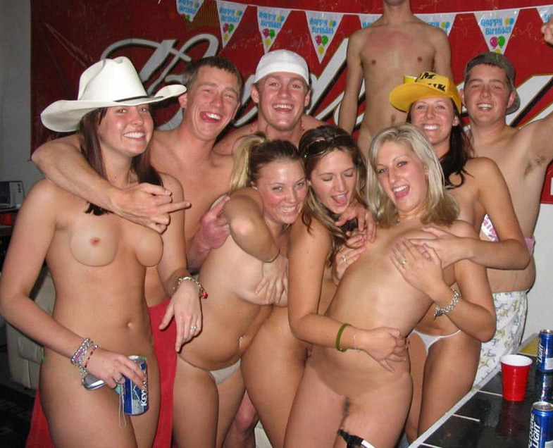 swingers college party