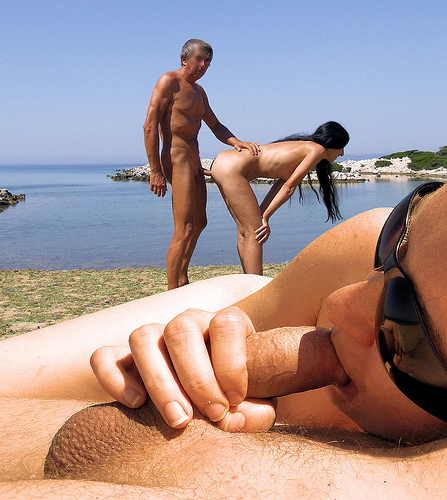 Nudist Fucking On The Beach