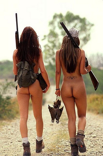 4257212211 2c38668f12 Naked Hunting Girls Rifles